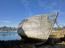 Brittany; Finistere: Harbour of Camaret Royalty Free Stock Photos