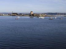 Brittany; Finistere: Porto de Camaret fotografia de stock royalty free
