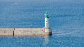 Brittany, ile de Groix, harbor royalty free stock image