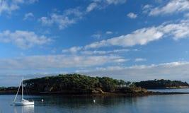 Brittany island in morbihan coast Stock Photo