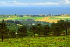 brittany krajobrazu Obraz Royalty Free