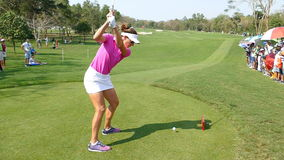 Brittany Lang de los E.E.U.U. en Honda LPGA Tailandia 2016