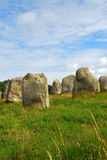 brittany megalityczni pomników Obraz Royalty Free