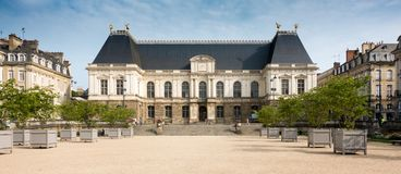 Brittany Parliament, Francia, Europa fotografía de archivo libre de regalías