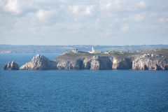 Brittany, The Pointe du Toulinguet Royalty Free Stock Images