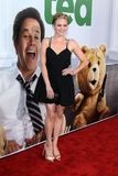 Brittany Snow arrives at the  Stock Photography