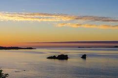 Brittany wybrzeże zdjęcie royalty free