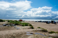Brittas Bay in Ireland Royalty Free Stock Photography