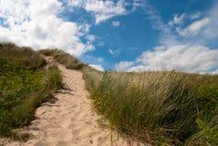 Brittas Bay. Wicklow Ireland. Royalty Free Stock Images