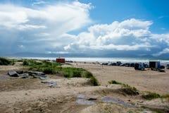 Brittas zatoka w Irlandia fotografia royalty free