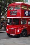 Brittisk buss för dubbel däckare royaltyfri bild