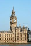 brittisk byggnadsparlament Arkivfoton