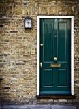 brittisk dörr london Royaltyfria Bilder