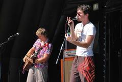 brittisk D finitive indie för band Arkivbild