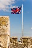 brittisk flagga Arkivfoto