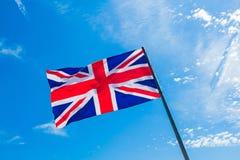 brittisk flagga Royaltyfri Foto