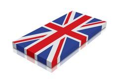 brittisk flagga vektor illustrationer