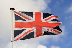 brittisk flagga Arkivfoton