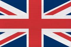 brittisk flagga uk arkivfoto