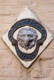 Brittisk legion Lion Emblem Royaltyfri Fotografi