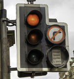brittisk ljus trafik Royaltyfri Foto