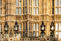 brittisk parlament Arkivbild