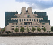 Brittisk presidentens säkerhetstjänst som buidling Royaltyfria Bilder