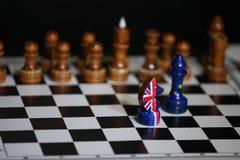 Brittisk schackriddareledare Arkivfoton
