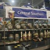 brittisk stor caskfestival för öl arkivfoto