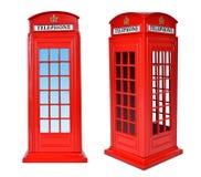 Brittisk telefonask Royaltyfri Foto