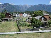 brittisk västra Kanada columbia gammal town Royaltyfri Foto