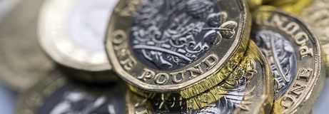Brittisk valuta 2017 Arkivbilder