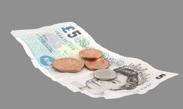 brittisk valuta Arkivbild