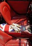 brittiska bilsportar Arkivbild