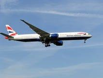brittiska flygbolag Royaltyfria Foton