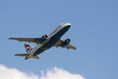 brittiska flygbolag Arkivfoton