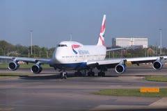 brittiska flygbolag Arkivbild