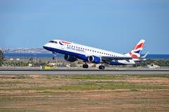 brittiska flygbolag Royaltyfri Foto