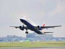 brittiska flygbolag för flygbuss a321 Arkivbilder