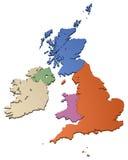 brittiska isles royaltyfri illustrationer
