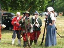 brittiska musketeers Royaltyfri Bild