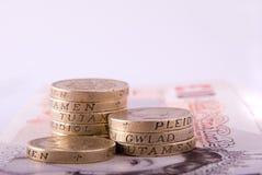 brittiska pengar arkivbild