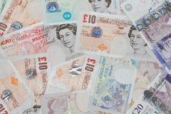 brittiska pund Royaltyfri Foto