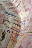 brittiska pund Royaltyfri Fotografi