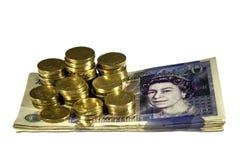 brittiska pund Royaltyfri Bild
