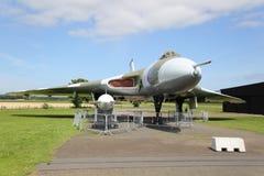 Brittiska RAF Avro Vulcan Bomber royaltyfri foto