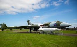 Brittiska RAF Avro Vulcan Bomber royaltyfria foton