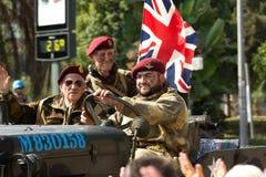 brittiska soldater Royaltyfri Bild