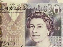 Brittiska Sterling Pounds Arkivbilder