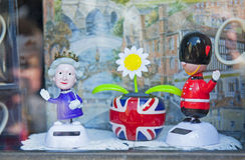 Brittiska symboler Royaltyfri Fotografi